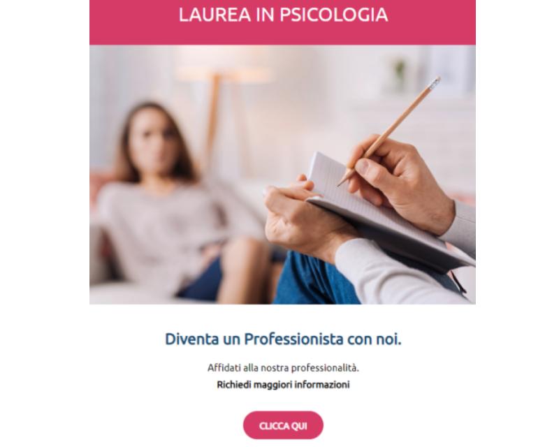 Laurea in Psicologia
